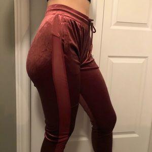 Forever 21 velvet pants